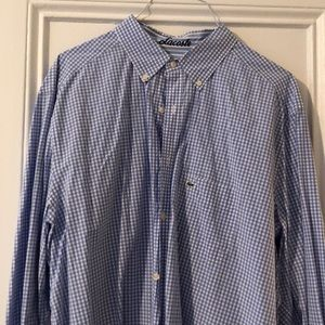 Lacoste button down long sleeve shirt